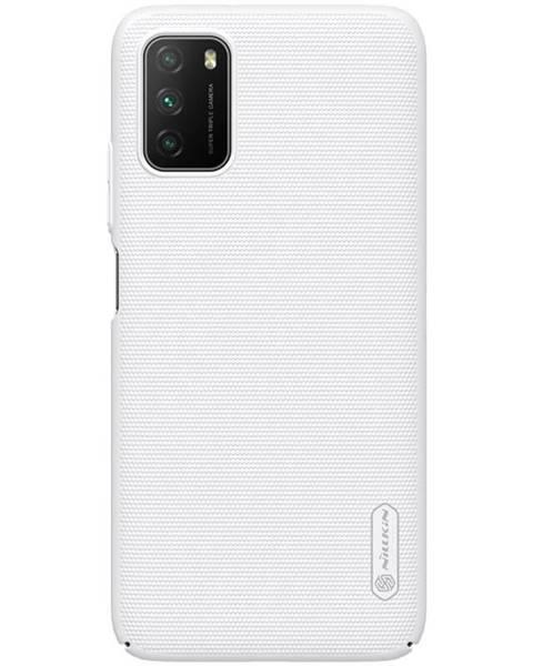 Nillkin Kryt na mobil Nillkin Super Frosted na Xiaomi Poco M3 biely