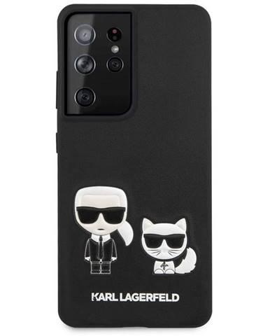 Kryt na mobil Karl Lagerfeld Karl &Choupette na Samsung Galaxy S21