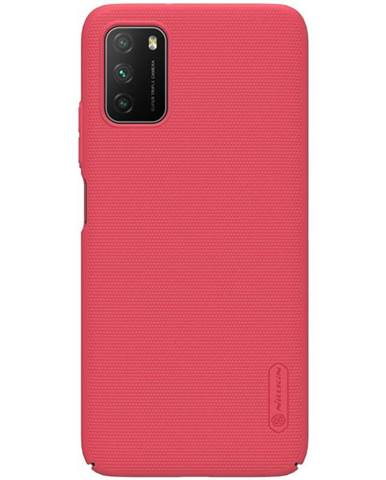 Kryt na mobil Nillkin Super Frosted na Xiaomi Poco M3 červen