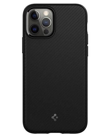 Kryt na mobil Spigen MagArmor na Apple iPhone 12 Pro/12 čierny