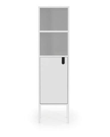 Biela skriňa Tenzo Uno, výška 152 cm