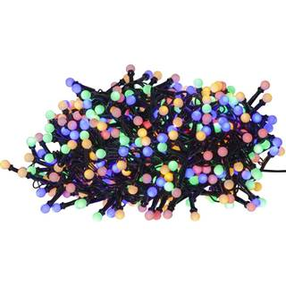 Farebná vonkajšia svetelná LED reťaz Best Season Berry Mini, 700 svetielok