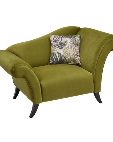 Carryhome KRESLO, textil, olivovozelená - olivovozelená
