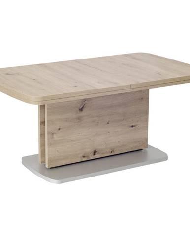 Venda KONFERENČNÝ STOLÍK, strieborná, farby dubu, kompozitné drevo, 145
