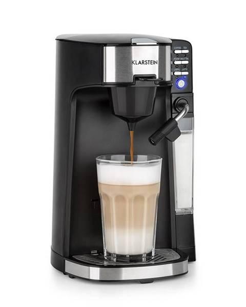 Klarstein Klarstein Baristomat, 2 v 1 plne automatické zariadenie, káva a čaj, mliečna pena, 6 programov