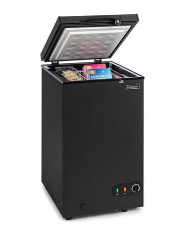 Klarstein Iceblokk 80, mraziaci box, voľne stojaci, 78 litrový kôš, uzamykateľný, energetická trieda A+, čierny