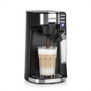 Klarstein Baristomat, 2 v 1 plne automatické zariadenie, káva a čaj, mliečna pena, 6 programov