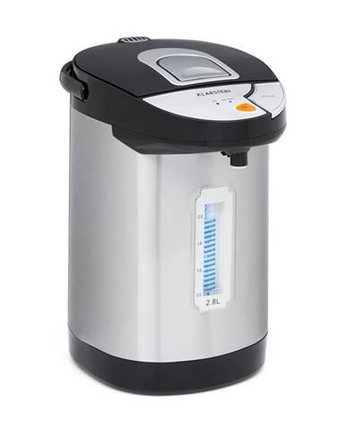 Klarstein Hot Spring, dávkovač horúcej vody, 2,8 l, nádrž na vodu z ušľachtilej ocele, strieborný