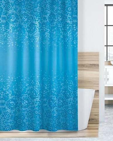 Bellatex Sprchový záves Mozaika modrá, 180 x 200 cm