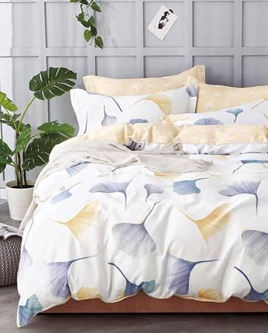 Bavlnená saténová posteľná bielizeň ALBS-01037B 200X220