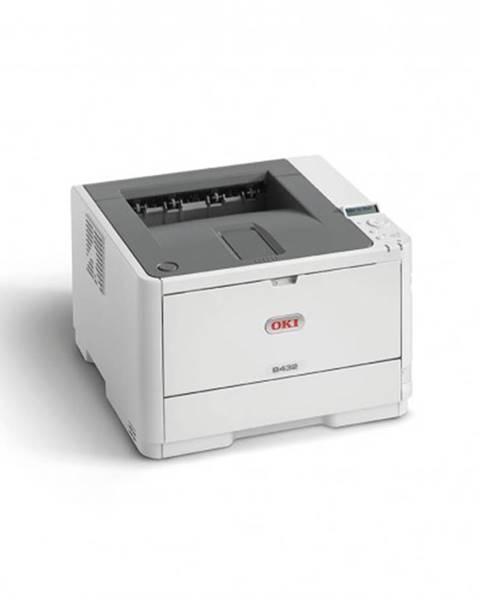 OKI Laserová tlačiareň OKI B412dn A4, čb, 1200x1200, 33 ppm