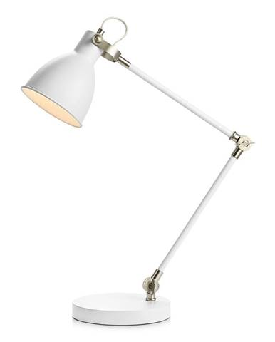Biela stolová lampa Markslöjd HoTable White