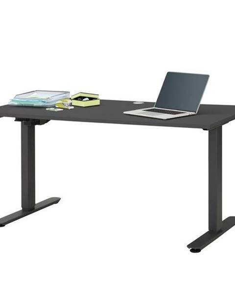 Sconto Písací stôl HOKO antracitová