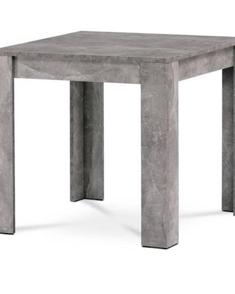 Sconto Jedálenský stôl BORIS betón