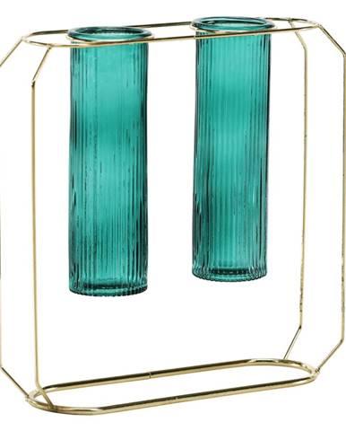 Dvojváza smaragdová/zlatá ROSEIN TYP 2