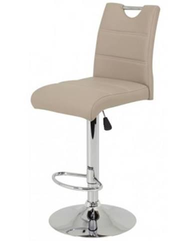 Barová stolička Miranda, cappuccino ekokoža%