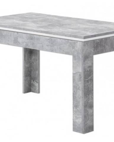 Jedálenský stôl Stone, 140x80 cm, rozkladací%
