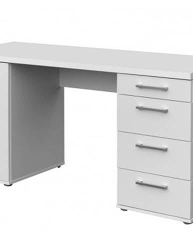 Písací stôl Walter, biely%