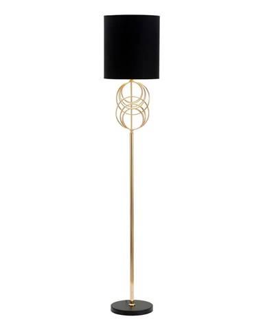 Čierna stojacia lampa Mauro Ferretti Circly