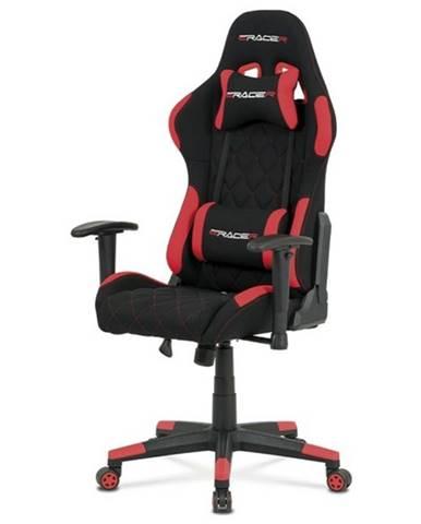 Kancelárska stolička NIKI červená/čierna
