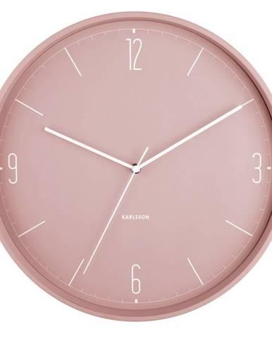 Karlsson 5735PI dizajnové nástenné hodiny, pr. 40 cm