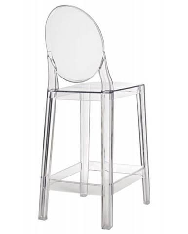 ArtD Barová stolička Viki transparentná