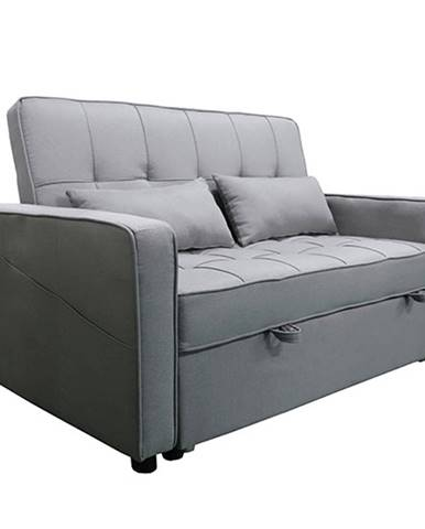 Rozkladacia pohovka sivá FRENKA BIG BED rozbalený tovar