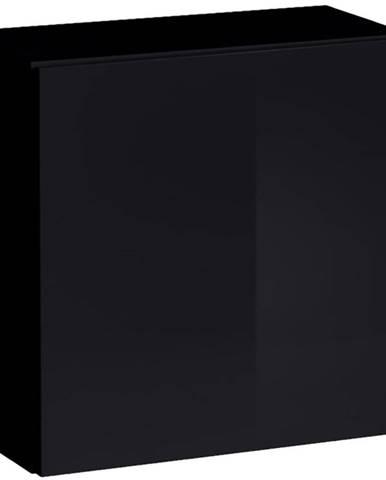Závesná skrinka Switch SW3 čierna