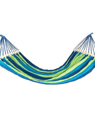 Happy Green Závesné hojdacie ležadlo 200 x 150 cm, modrá