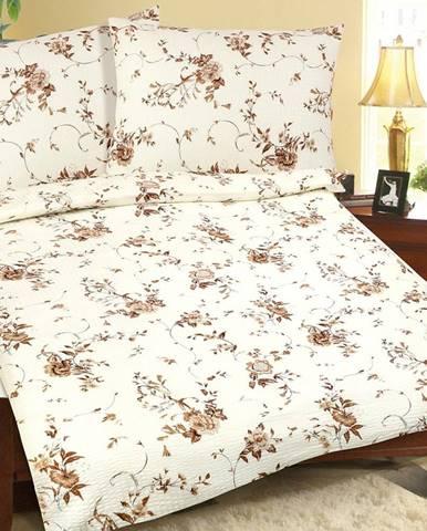 Bellatex Bavlnené obliečky Rozkvitnutá ruža