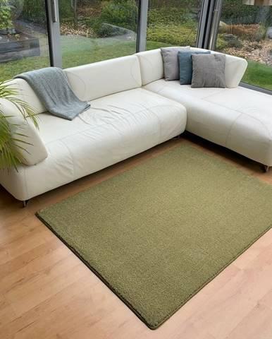 Vopi Kusový koberec Udine zelená, 120 x 170 cm