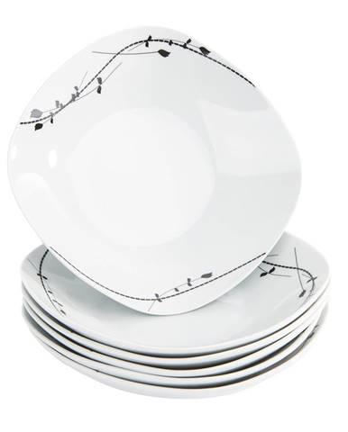 Mäser 6-dielna sada hlbokých tanierov Londra, 21,5 cm