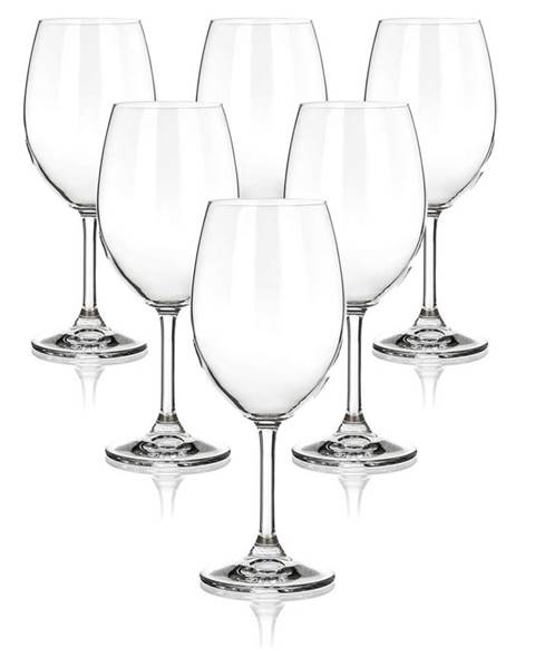 Banquet Banquet 6-dielna sada pohárov na červené víno LEONA, 430 ml