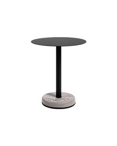 Barový stolík s betónovou základňou Lyon Béton Ronde, ø 61,8 cm