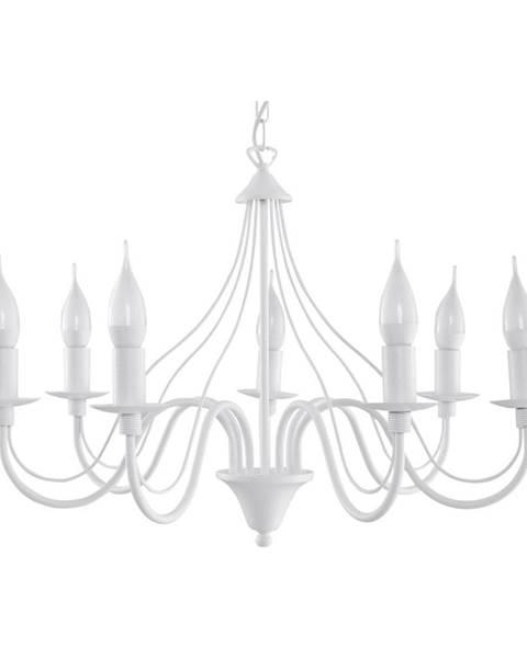 Nice Lamps Biele stropné svietidlo Nice Lamps Floriano 7