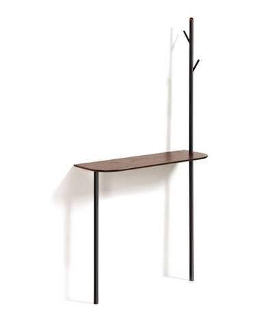 Konzolový stolík s vešiakom La Forma Marcolini, 80 x 160 cm