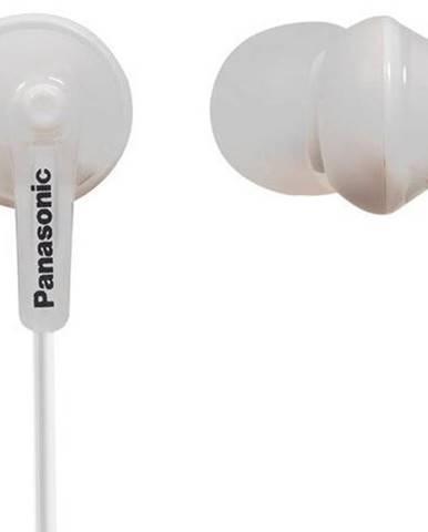 Slúchadlá do uší Panasonic RP-HJE125E-W, biele