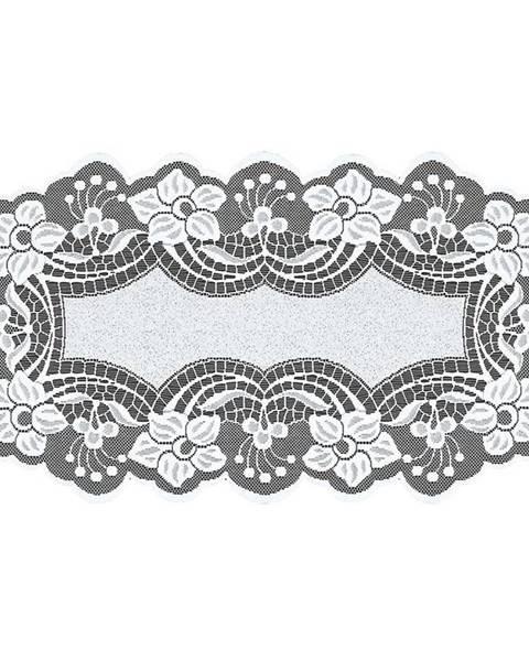 MERKURY MARKET Žakárový obrus  249301 oválny 60X120 biely