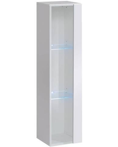Závesná skrinka Switch WW2 Biely +LED