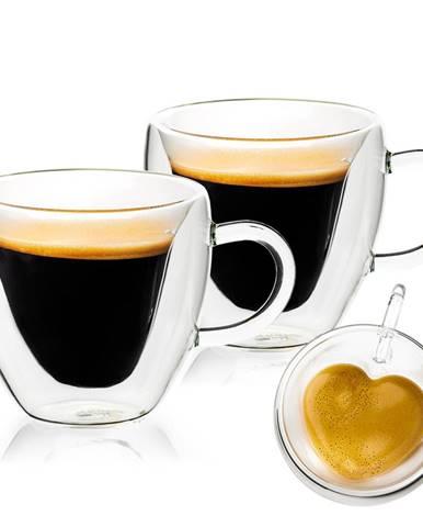 4home Termo pohár Big Heart Hot&Cool, 250 ml, 2 ks