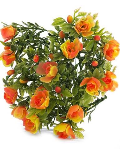Umelé kvetiny ruža, 30 cm,  HTH