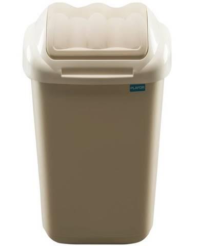 Aldotrade Odpadkový kôš FALA 30 l, béžová