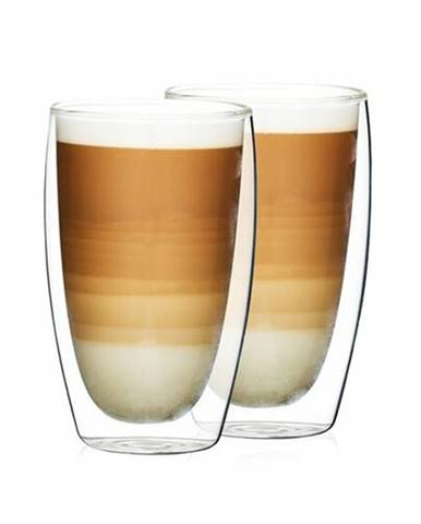 4Home Termo pohár na latté Hot&Cool 410 ml, 2 ks