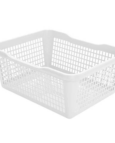 Aldo Plastový košík 47,5 x 37,8 x 20,8 cm, biela
