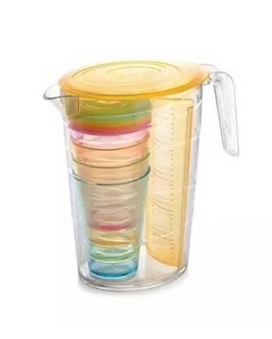 Tescoma Džbán s pohármi myDRINK 2,5 l, oranžová 308802.17