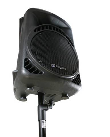 Skytronic 180.548UK, dvojica PA DJ stojanových tyčí, rozpierka