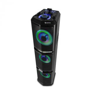 "Auna Clubmaster, TripleBeat, Party-Station, 250 W max., 3 x 10"" subwoofer, USB, BT, AUX"