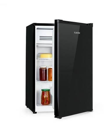 Klarstein Delaware, chladnička, A++, 76 litrov, 4-litrová mraziaca časť, kompresia, čierna