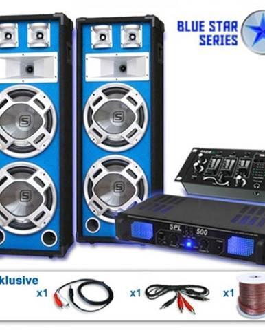 Electronic-Star Ozvučovací set Blue Star Series Bassveteran USB, 1200 W