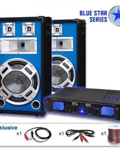 "Electronic-Star Reproduktorový set Blue Star Series ""Basskick"", 1600 W"